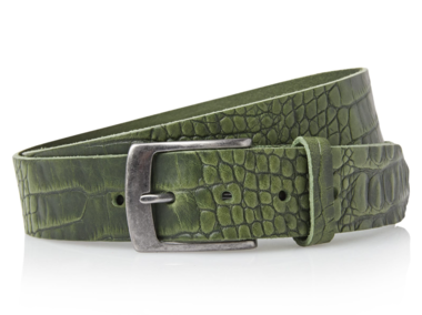 4 cm groene riem 40628