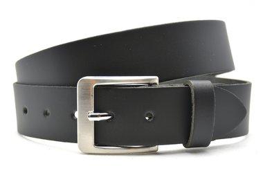 4cm jeans riem zwart 443