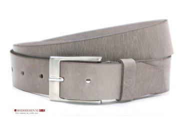 4cm grijze riem - pantalon / jeans riem grijs gr420
