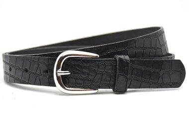 3cm dames riem zwart 30908