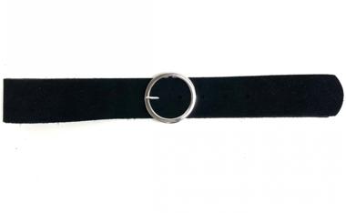 5 cm zwarte riem 45001