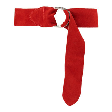 6 cm brede dames riem rood 60680