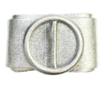 8 cm tailleriem zilver 80213