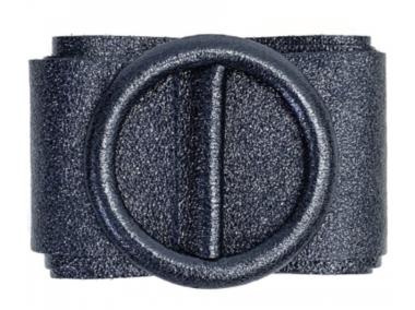 8 cm tailleriem blue metallic 80213