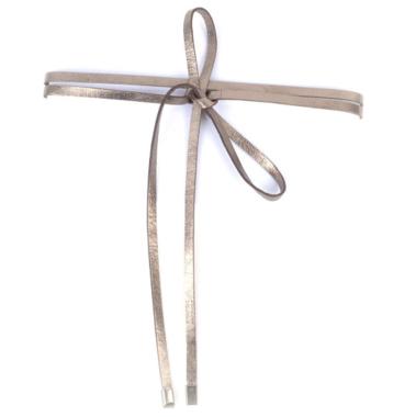Knoopriem brons 019