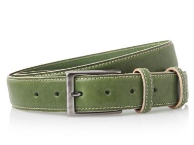 3,5 cm groene pantalon riem 35577