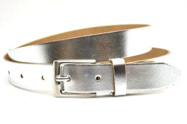 3cm zilveren damesriem 63009