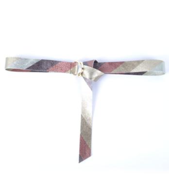 Knoopriem metallic 559081