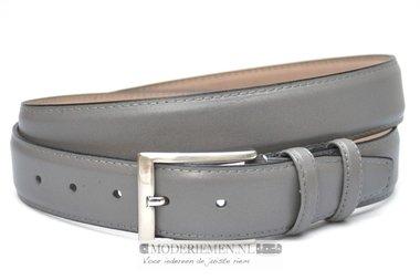 3,5cm grijze riem -  pantalon riem grijs gr350am