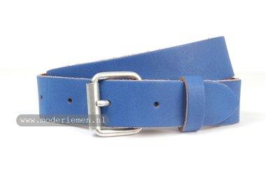 3cm kinderriem blauw kbl304