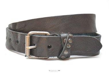 3,5cm zwarte riem - jeans riem zwart Take-it zw702TB