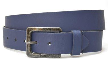 4cm blauwe riem - jeans riem blauw Timbelt bl421Timbelt