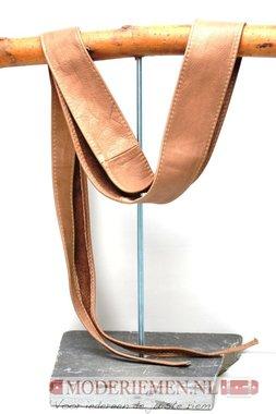 6 cm brede dames riem taupe Unleaded