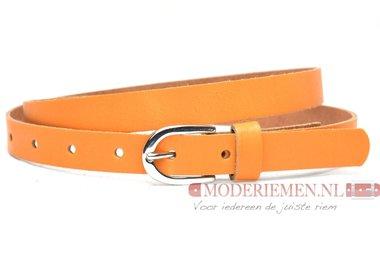 2cm dames riem oranje or201