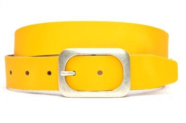 4 cm gele riem 405