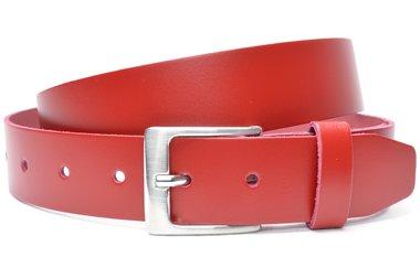 4cm rode riem - jeans riem rood ro412