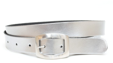 3cm zilveren riem -  dames riem zilver zi301