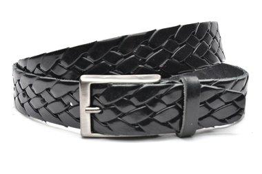 3,5 cm zwarte riem 900