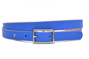 2cm dames riem kobalt blauw kobl203