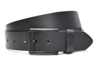 4 cm zwarte riem 40602