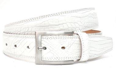 3,5cm witte pantalon riem 510nb