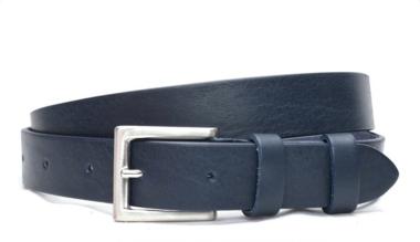 3cm pantalon riem blauw bl3026