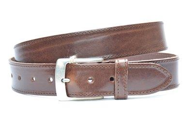 4 cm jeans riem bruin 622-1