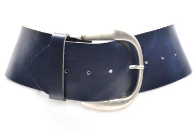 8 cm brede dames riem blauw 804