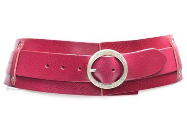 8 cm brede dames riem roze 8200
