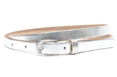 1,5 cm smalle riem zilver 155