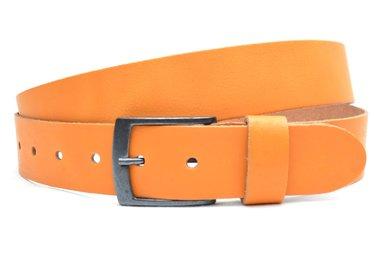 3,5 cm jeans riem oranje 63542
