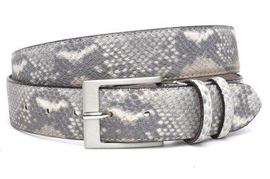 4 cm grijze riem snake 400am