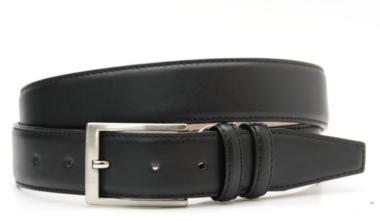 3,5cm pantalon riem zwart zw350am