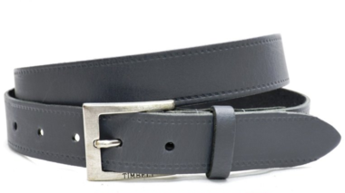 3cm pantalon riem grijs gr320
