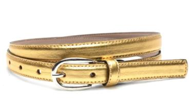 2cm gouden riem - dames riem goud goud200am