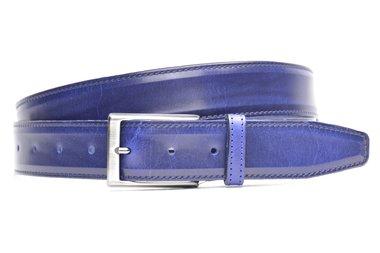 3,5 cm blauwe riem 904