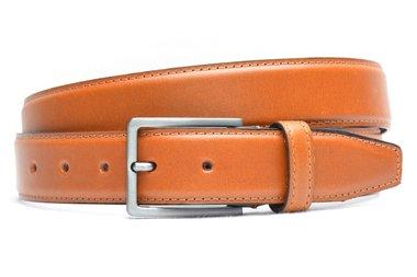 3,5 cm pantalon riem cognac 516