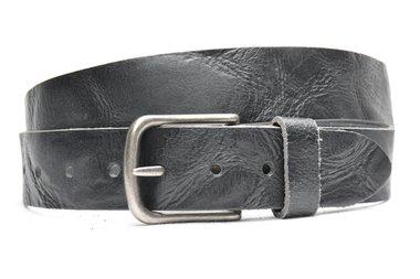 4 cm zwarte jeans riem 64069