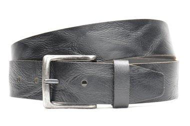 4,5 cm zwarte jeans riem 418