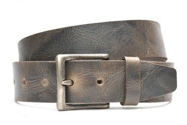 4,5 cm grijze jeans riem 418