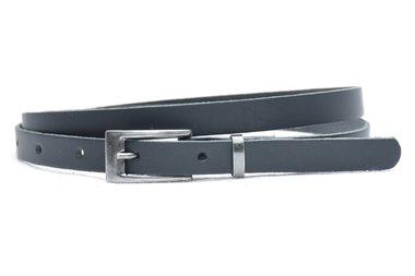 1,5 cm smalle riem zwart 435