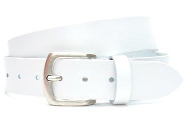 4cm witte riem 407tb