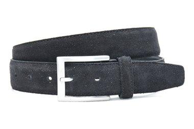 3,5 cm suède riem zwart 508tb