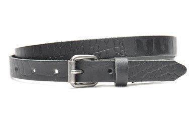 2cm dames riem zwart 62002