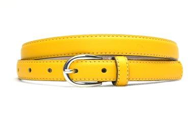 2cm smalle riem geel 200am