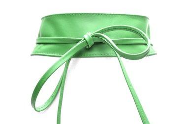 8cm knoopriem groen