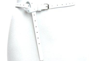 1,5cm lange witte riem 150per