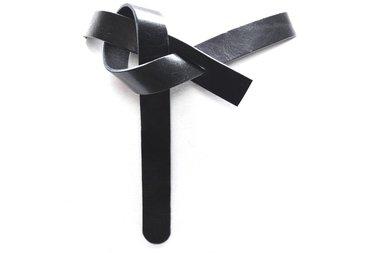 3cm tailleriem zwart 30907