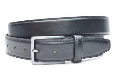 3,5 cm pantalon riem zwart 516