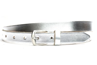 2 cm zilveren riem 62001